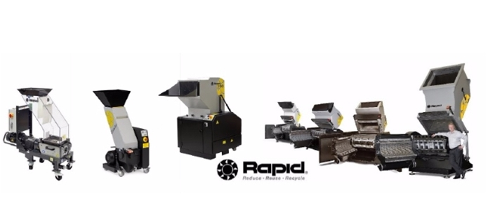 Rapid Plastic Granulators & Plastic Shredders