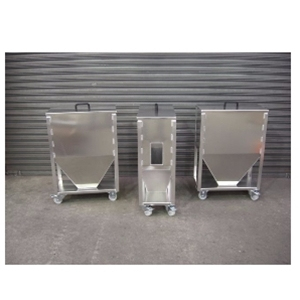 Aluminium Material Storage Bins