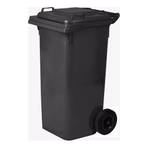 Two Wheeled Plastic Wheelie Bins